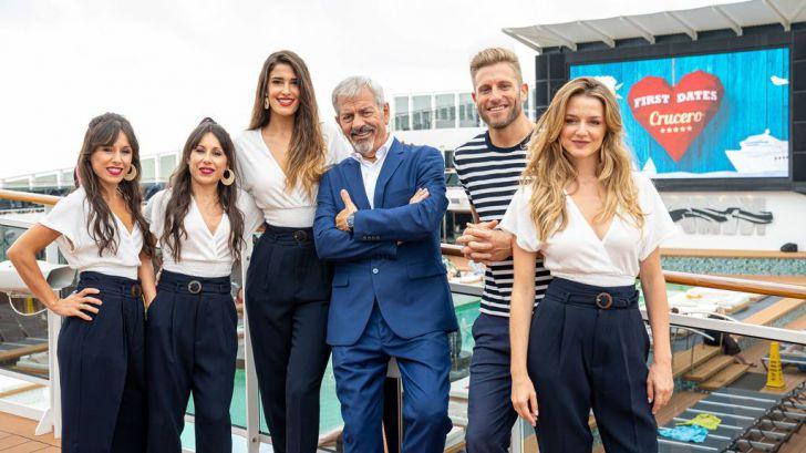 Cuatro inicia la grabación de 'First Dates Crucero'