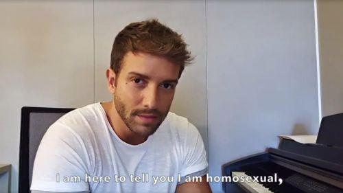 Pablo Alborán confiesa en Instagram su homosexualidad