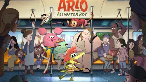 Arlo, el chico caimán llegará a Netflix en 2021 en forma de película y serie