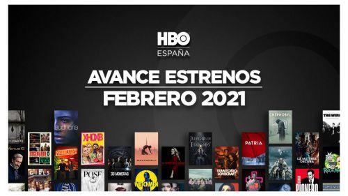 Estrenos de HBO para el mes de febrero de 2021