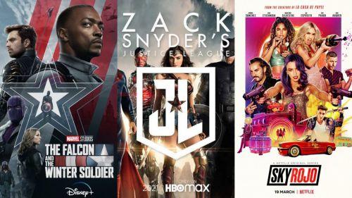 Una semana cargada de estrenos en Netflix, HBO, Prime Video y Disney+