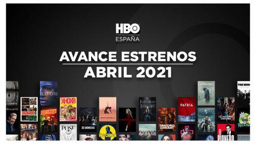 Todos los estrenos de HBO en abril