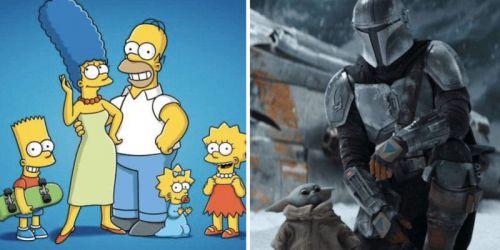 'Los Simpsons' superan en visualizaciones a 'The Mandalorian' en 2020