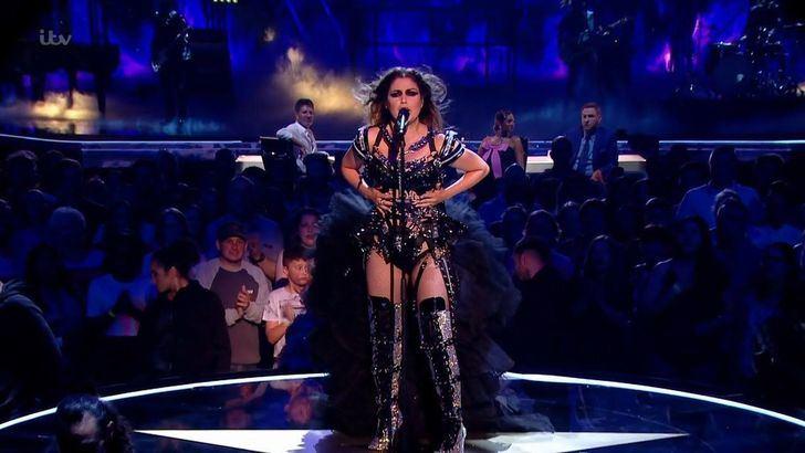 Cristina Ramos en un conocido talent show británico