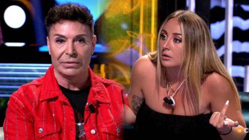 La aplaudida reacción de Carlos Sobera ante las malas formas de Rocío Flores en 'Supervivientes'
