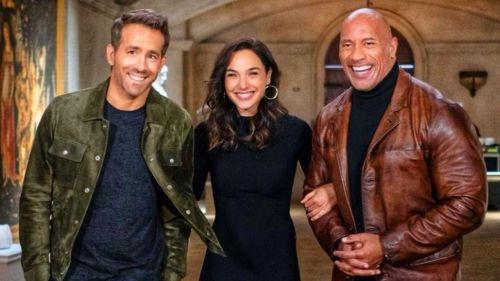 'Alerta roja' en Netflix: Dwayne Johnson vs. Ryan Reynolds vs. Gal Gadot