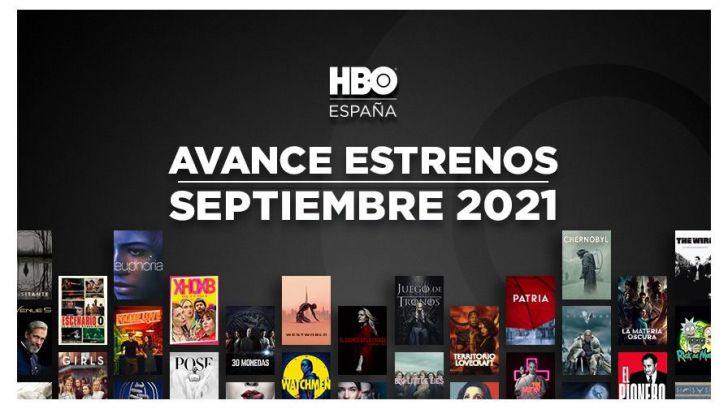 Todos los estrenos de HBO España para este mes de septiembre