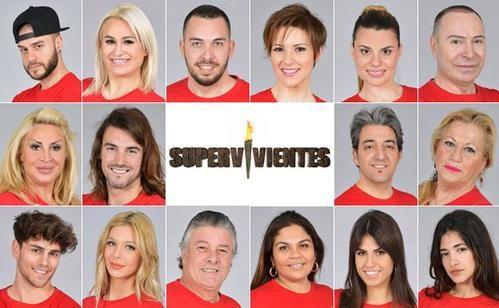 Concursantes de 'Supervivientes 2018'