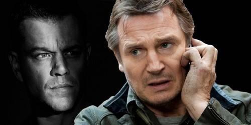 Matt Damon y Liam Neeson se meten a pilotos